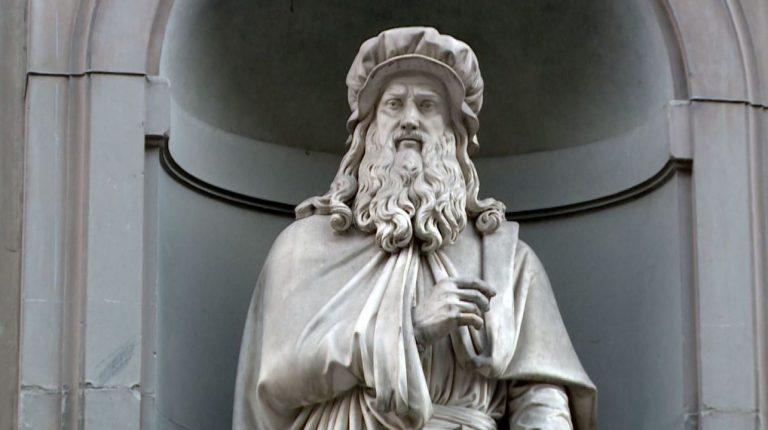 Estude inglês com Leonardo Da Vinci